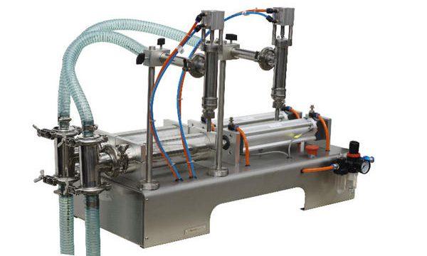 Yarı Otomatik Bal Dolum Makinası Yüksek Dolum Hassasiyeti
