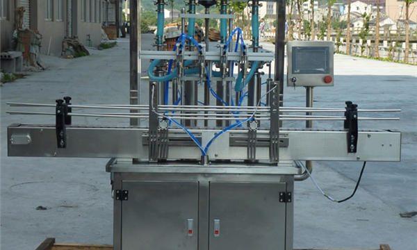 Otomatik Fıstık Ezmesi dolum makinası