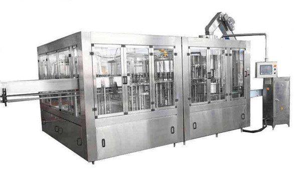 8000BPH Otomatik Hindistan Cevizi Yağı Dolum Makinesi Hattı