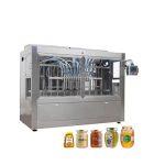 Otomatik Cam Kavanoz Bal Dolum Kapaklama Makinesi