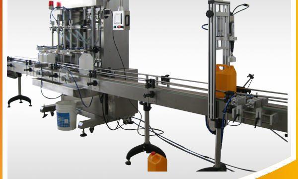 Otomatik Mücevher Temizleyici Sıvı Dolum Makinesi