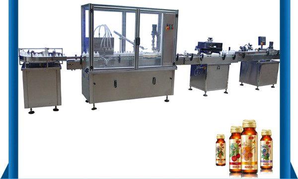 Çin Tedarikçisi Otomatik Bal Şişesi Sıvı Dolum Makinesi