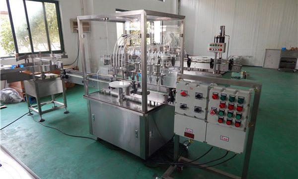 Otomatik Yüksek Viskoziteli Sıvı Dolum Makinesi