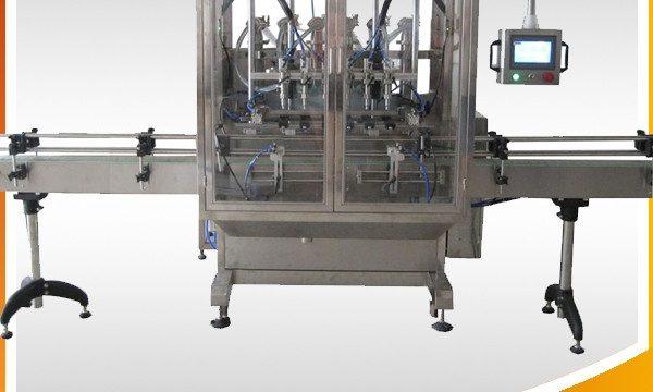 Otomatik Taşma Yerçekimi Şişesi Sıvı Dolum Makinesi