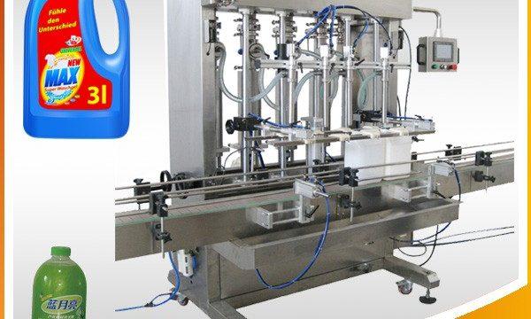 Çift Kafalı Tam Otomatik Pistonlu Tip Sıvı Dolum Makinesi
