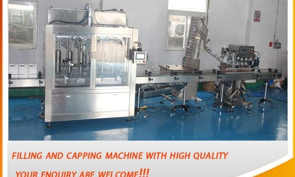 Yüksek Verimli 5 Litre Tam Otomatik Yağ Dolum Makinesi