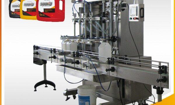 500ml-2L Otomatik Sıvı Deterjan Dolum Makinesi / Yıkama Sıvı Dolum Makinesi