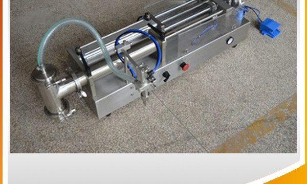 Yarı Otomatik Pistonlu Dolum Makinesi İdeal Yağ Dolum Makinesi