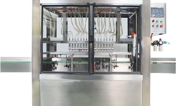 Tam Otomatik 10 Kafa Kozmetik Krem Reçel Dolum Makinesi