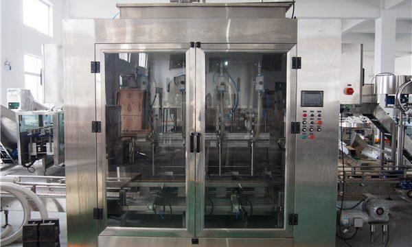 Otomatik Gıda Yağı Dolum Makinesi ve Zeytinyağı Paketleme Makinesi