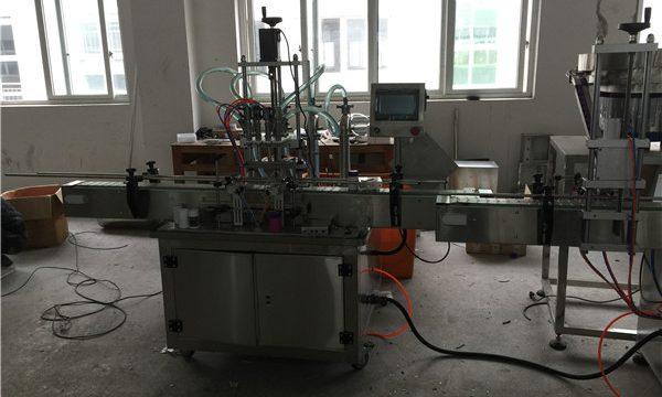 Otomatik Pistonlu Sıvı Dolum Makinesi 50ml ila 1L