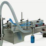 Pnömatik Kontrol Çift Kafa Yağlama Yağı Dolum Makinesi
