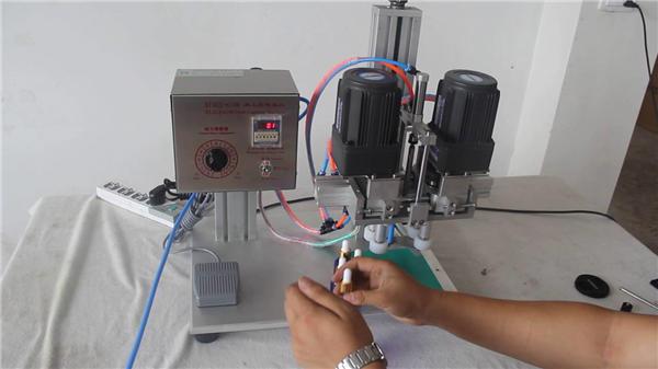 Tam Otomatik Pnömatik Kapaklama Makinesi Üreticisi
