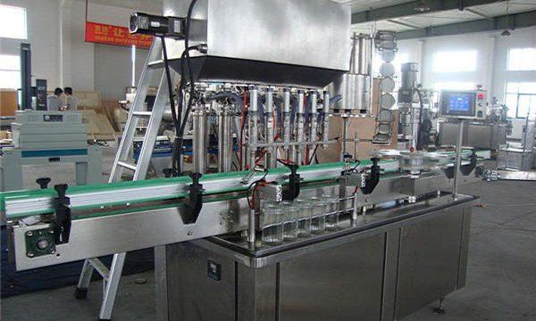 Tam Otomatik Domates Ketçap Dolum Makinesi