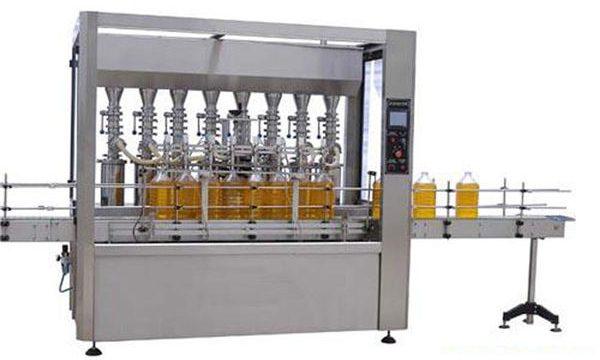 Yüksek Hassasiyetli Otomatik Yağlama / Yemeklik Yağ Dolum Makinesi 2000ml-5000ml