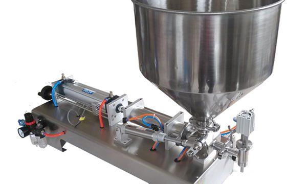 Yarı Otomatik Pistonlu Cam Kavanoz Bal Dolum Makinesi