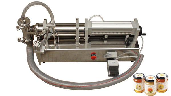 Yarı Otomatik Yüksek Viskoziteli Lliquid Bal Dolum Makinesi