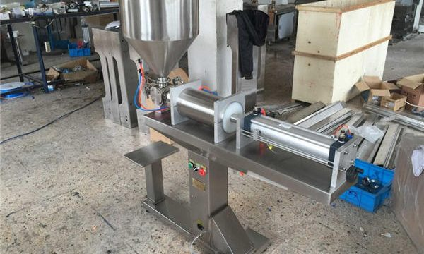 Yarı Otomatik Tek Kafalı Bal Dolum Makinesi
