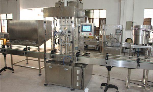 Yüksek Hacimli Otomatik Şişe Şampuan Dolum Makinesi