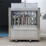 Saf Pnömatik Yarı Otomatik Domates Sosu Dolum Makinesi