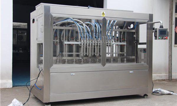 Şişelerde Tam Otomatik Bal Dolum Makinesi