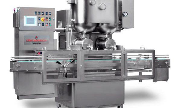 Çift Kafa Yarı Otomatik Meyve Reçeli Dolum Makinesi