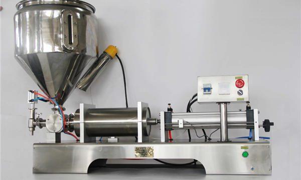 Saf Pnömatik Yarı Otomatik Meyve Reçeli Dolum Makinesi