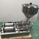 Yaygın olarak kullanılan çift kafaları çilek reçeli dolum makinası