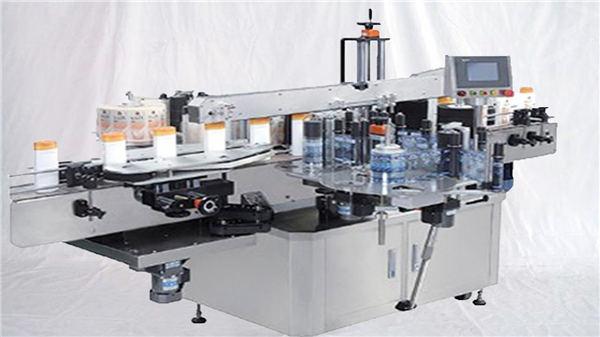 Cam Parfüm Şişesi Üst Yüzey Etiket Makinesi