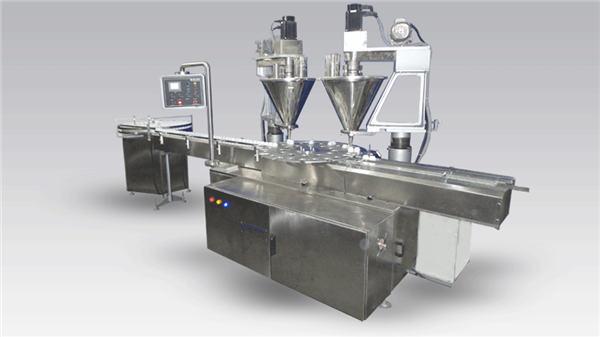 6 Kafalı Tam Otomatik Kahve Dolum Makinesi Tozu
