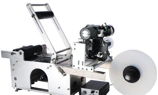 Yarı Otomatik Yuvarlak Şişe Etiketleme Makinası