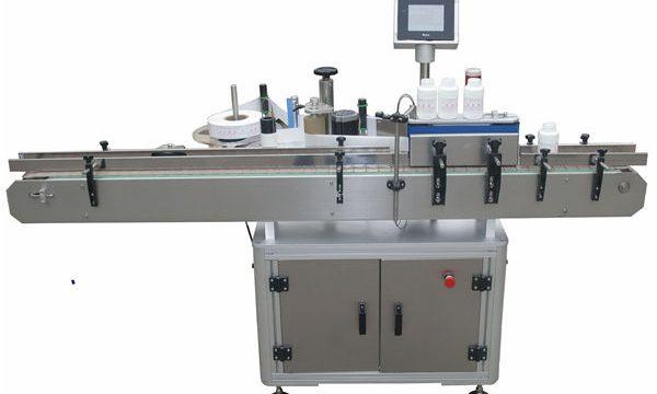 Pet Plastik Cam Şişe İçin Llabeling Mmachine Otomatik Çift Taraflı