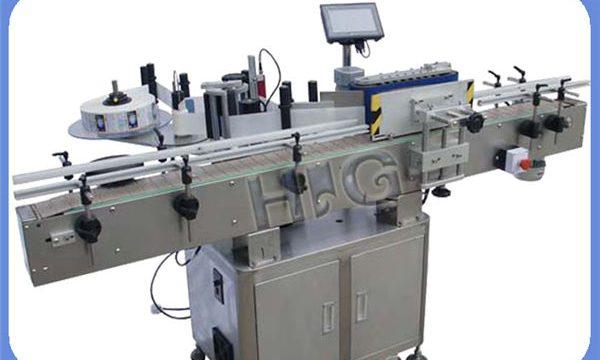 Yazıcıyla Otomatik NPACK Yuvarlak Şişe Etiketleme Makinesi Üreticisi