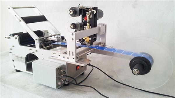 Küçük Yuvarlak Şişe Etiketleme Makinesi