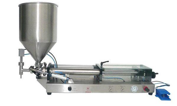Yarı Otomatik Ketçap Dolum Makinesi