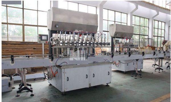 Şirketler Üretim Makinesi Yüksek Kaliteli Şampuan Dolum Makinesi