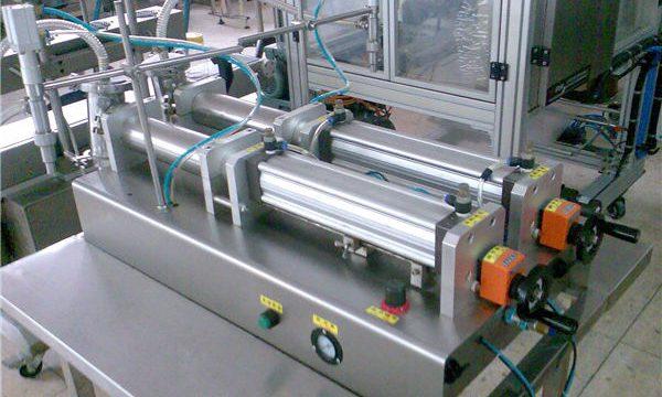Kaliteli Çift Memeli Sıvı Şampuan Dolum Makinesi