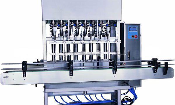 Otomatik çamaşır deterjanı dolum makinası