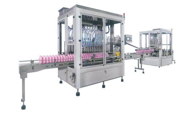 Tam Otomatik Sıvı Sabun Deterjan Şampuan Dolum Makinesi