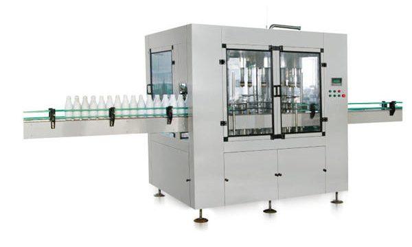 Sekiz kafalı Otomatik Lineer Pistonlu Sıvı Sabun Dolum Makinesi