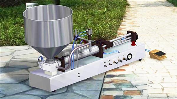 Yarı Otomatik Dikey Diş Macunu Dolum Makinesi