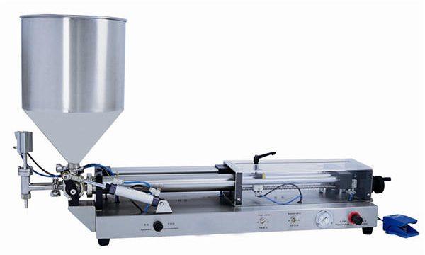 3mL-5L için Yarı Otomatik Yapıştırma Dolum Makinesi
