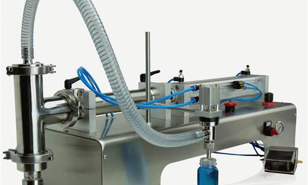 Makine Yeni Tasarım Dolum Yüksek Kalite Yarı Otomatik Piston