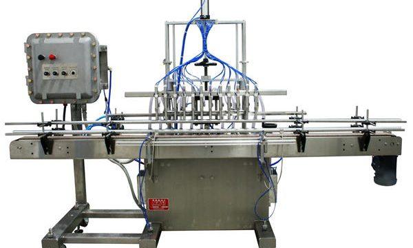 Otomatik Pistonlu Sıvı Dolum Makinesi 50ml-1L