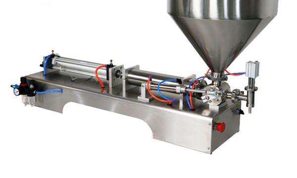 Yarı Otomatik Pistonlu Kalın Sos Dolum Makinesi