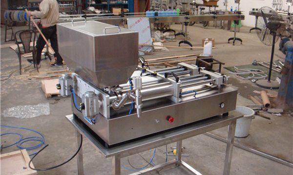 En Ucuz Pnömatik Yarı Otomatik Reçel Dolum Makinesi